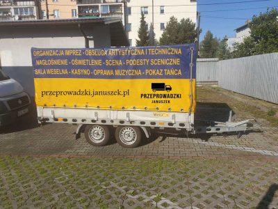 przyczepka do przeprowadzek Kraków