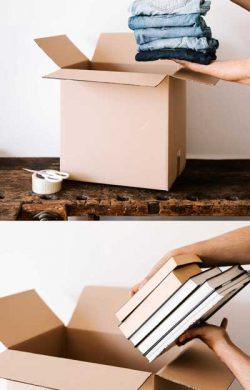 pakowanie rzeczy do kartonu przeprowadzki międzymiastowe